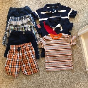 9 pic bundle pack of 4T boys clothes